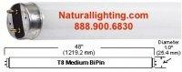 "Vitabright F32T8, 32 watt, 1"" Dia, Length - 48"" (VBF32T8)"