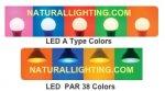 LED COLORED BULBS