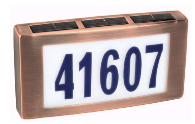 LED House Number Address Fixture (# LED500)