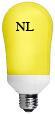 Compact Fluorescent Yellow Bug Light 24 watt