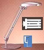Ergo-Tek Supreme Electronic Desk Lamp (# ET-2000) - Sale Price