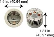Mogul to Medium Base Adaptor # SAM200