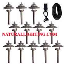 LED High Output Landscape Lighting Set (12 pc)  (# LEDLS12)