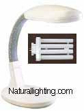 3-Desk Lamp Natural Day Light 5000K, Gray * ON SALE * (# DLG27)