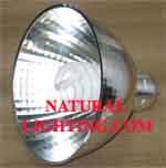 High Output Spiral 105 watt & Reflector, 6500K (HOS10565R)
