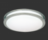 "LED Ceiling Mount Outdoor Satin Nickel, 12"", 4100K # DC012D-62-41"